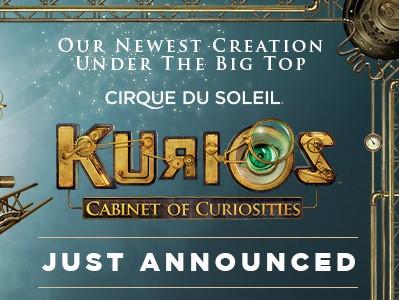 Cirque du Soleil – KURIOS – Cabinet of Curiosities